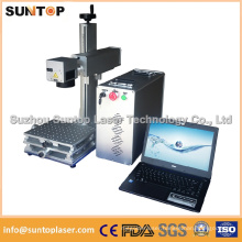 Arts and Crafts Laser Fiber Marking/Desktop Marking Laser Machine for Metal Parts